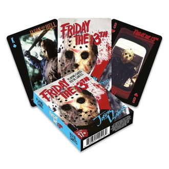playing cards Friday the 13th - Jason, NNM, Friday the 13th