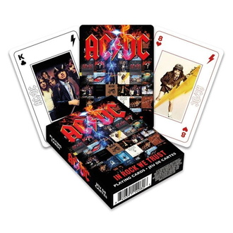 playing cards AC / DC - In Rock We Trust, NNM, AC-DC