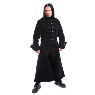 Men's coat POIZEN INDUSTRIES - QUENTIN - BLACK VELVET, POIZEN INDUSTRIES
