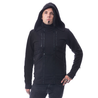 hoodie men's - RECAL - CHEMICAL BLACK, CHEMICAL BLACK