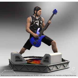 Figure  Metallica - Robert Trujillo - Limited Edition - KNUCKLEBONZ, KNUCKLEBONZ, Metallica
