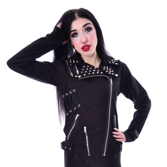 Women's jacket VIXXSIN - ROCKSTAR - BLACK, VIXXSIN