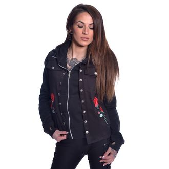Women´s jacket VIXXSIN - ROOSA ROSE - BLACK - POI643