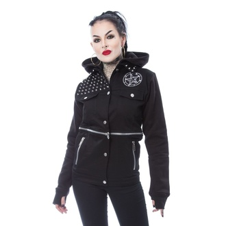 women's jacket HEARTLESS - ROWENA - BLACK - POI945