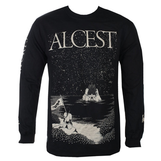 Men's t-shirt with long sleeves Alcest - Island - Black - KINGS ROAD, KINGS ROAD, Alcest
