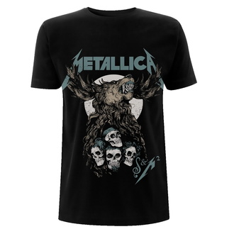 Men's t-shirt Metallica - S&M2 Skulls - Black, NNM, Metallica