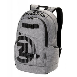 Backpack MEATFLY - BASEJUMPER C - Heather Grey, MEATFLY