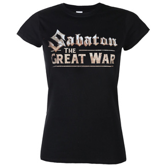 t-shirt metal women's Sabaton - The great war - NUCLEAR BLAST, NUCLEAR BLAST, Sabaton