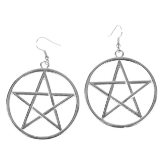 Earrings Pentagram, FALON