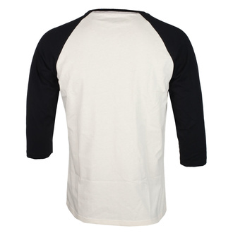 Men's shirt with 3/4 sleeve NIRVANA - SERVE THE SERVANTS - ECRU / BLACK - GOT TO HAVE IT, GOT TO HAVE IT, Nirvana