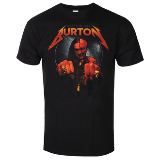 t-shirt men Cliff Burton - Ray & Cliff Burton - Black, NNM, Metallica