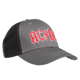 Cap AC/DC - Red Logo - CHAR / BL - ROCK OFF - ACDC2TCAP01CB