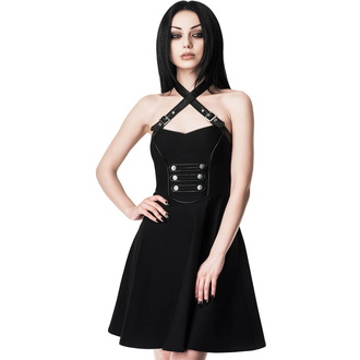 Women's dress KILLSTAR - Sergeants Skater - BLACK, KILLSTAR