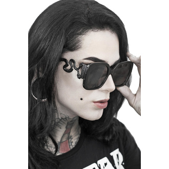 Sunglasses KILLSTAR - Serpent - BLACK, KILLSTAR
