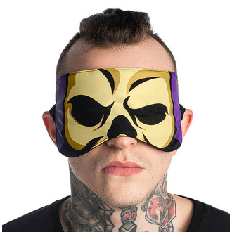 Sleep mask KILLSTAR - Skeletor - BLACK, KILLSTAR