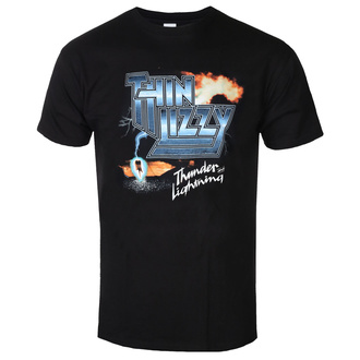 t-shirt metal men's Thin Lizzy - THUNDER AND LIGHTNING - PLASTIC HEAD, PLASTIC HEAD, Thin Lizzy