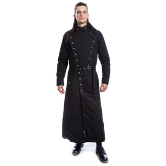 Men's coat CHEMICAL BLACK - SOLOMON - BLACK, CHEMICAL BLACK