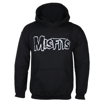 Men's hoodie MISFITS - LOGO +SKULL OVERHEAD - BLACK - GOT TO HAVE IT, GOT TO HAVE IT, Misfits