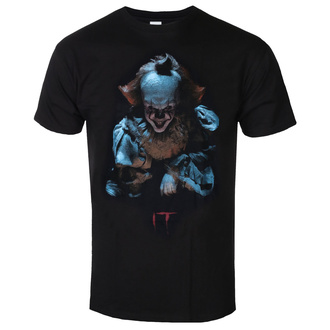 Men's t-shirt  IT - (2017) Pennywise Grin - Black, BIL