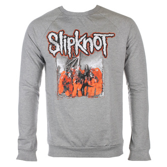 Unisex t-shirt with long sleeves Slipknot - Self-Titled - GREY - ROCK OFF, ROCK OFF, Slipknot