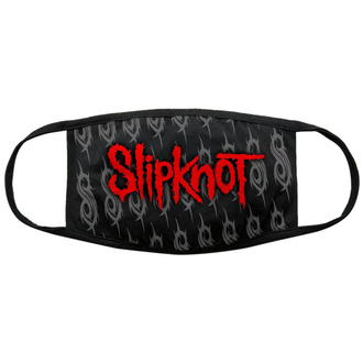 Mask Slipknot - Red Logo & Sigils - BL - ROCK OFF, ROCK OFF, Slipknot