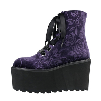 Women's boots KILLSTAR - Vampires Kiss Platform - PLUM, KILLSTAR