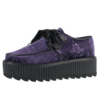 Women's boots KILLSTAR - Vampires Kiss Creepers - PLUM - KSRA002566