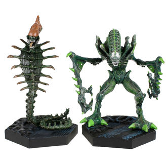 Decorations (Set of 2 items) Alien - Retro - Mantis Alien & Snake Alien, NNM, Alien