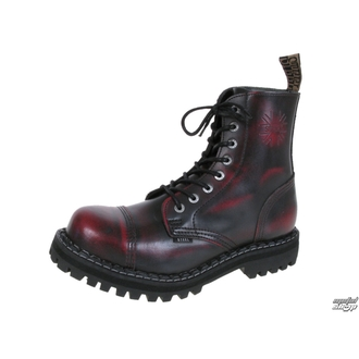 boots STEEL - 8- eyelet - 114/0 - RED/BLACK