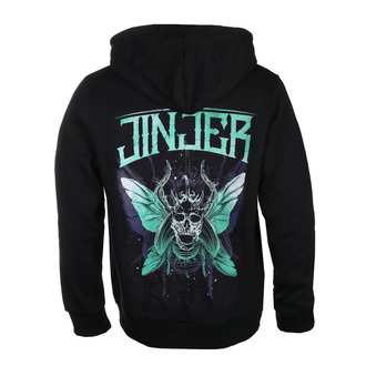 hoodie men's Jinjer - Butterfly Skull - NAPALM RECORDS, NAPALM RECORDS, Jinjer