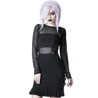 Women's skirt KILLSTAR - Synth Suspender - BLACK, KILLSTAR