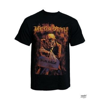 t-shirt metal Megadeth - Peace sells - LIVE NATION - PEMGD0020