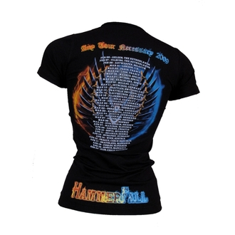 t-shirt metal women's Hammerfall - Any Tour Means Necessary - NUCLEAR BLAST - 159238