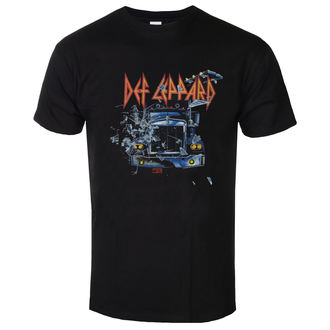 t-shirt metal men's Def Leppard - On through the night - LOW FREQUENCY, LOW FREQUENCY, Def Leppard