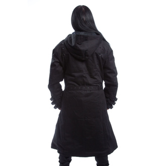 Men's coat HEARTLESS - TARQUIN - BLACK, HEARTLESS