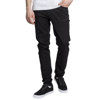 Men's trousers URBAN CLASSICS - Basic Stretch Twill 5 Pocket - black, URBAN CLASSICS