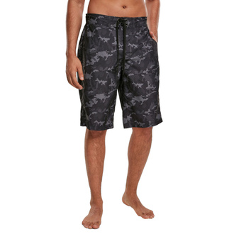 Men's shorts (swimsuit) URBAN CLASSICS - black camo - TB3525-black camo