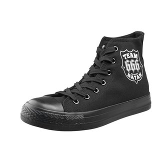 high sneakers unisex Team Satan - AMENOMEN - OMEN082TRAMP