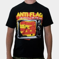 t-shirt mens Anti Flag (The People Or The Gun) - KINGS ROAD