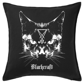 pillow BLACK CRAFT - Lucifer The Cat Throw, BLACK CRAFT