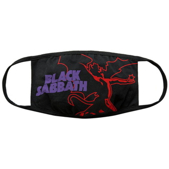 Facemask Black Sabbath - Red Thunder V1 - ROCK OFF, ROCK OFF, Black Sabbath