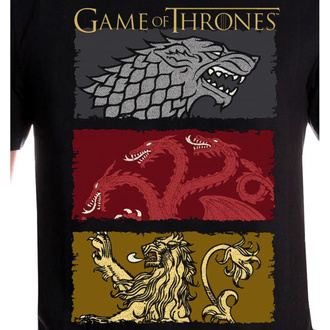 film t-shirt men's Game of thrones - THE HOUSES OF THE KING - LEGEND, LEGEND, Game of Thrones