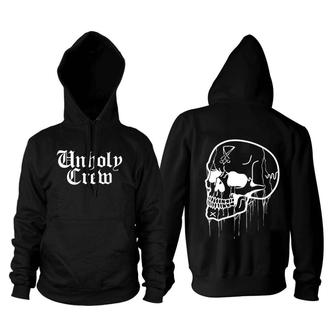 hoodie men's - Unholy Crew - BLACK CRAFT - HS041UC