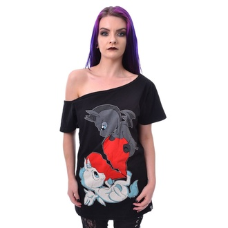 t-shirt women's - UNICORN HEART FIGHT - CUPCAKE CULT - POI911