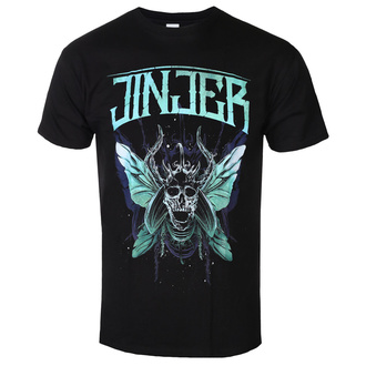 t-shirt metal men's Jinjer - Butterfly Skull - NAPALM RECORDS, NAPALM RECORDS, Jinjer