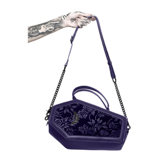 handbag (bag) KILLSTAR - Vampires Kiss - PLUM - KSRA002543