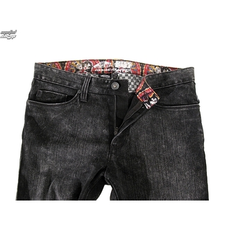pants men (jeans) VANS - KISS Rock N Roll Black