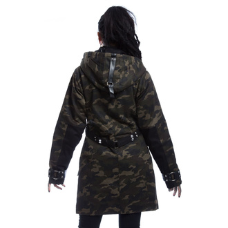 Women's jacket POIZEN INDUSTRIES - VASA - GREEN CAMO, POIZEN INDUSTRIES