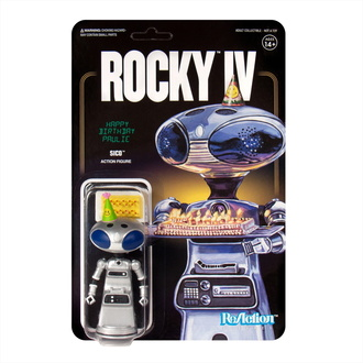 Figure Rocky - 4 ReAction - Sico Paulie's Robot, NNM, Rocky