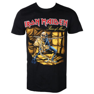 t-shirt metal men's Iron Maiden - Piece of Mind - ROCK OFF - IMTEE10MB